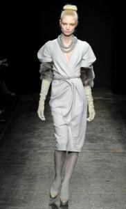 Модные платья Donna Karan - коллекция осень-зима 2011-2012