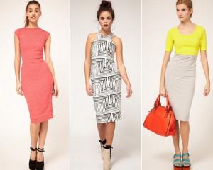 3b2fd7a2a67 Платье-футляр - с чем носить