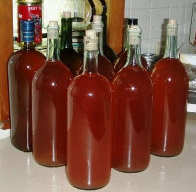 Клубничное вино, пошаговый рецепт с фото
