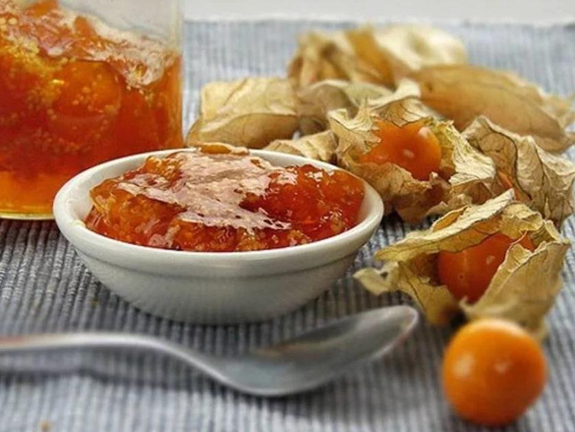Варенье из физалиса с апельсином