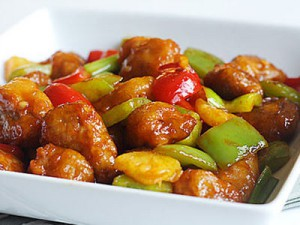 Овощи в кисло сладком соусе по китайски