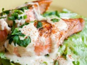 Рецепт семга с сливочным маслом