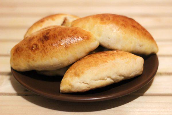 Пирожки с капустой на молоке