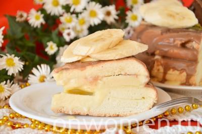 biskvitnyj-tort-s-fruktami-i-shokoladom-v-multivarke17