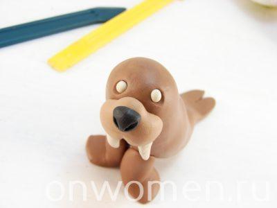 картинки моржа из пластилина это, наверное, самый