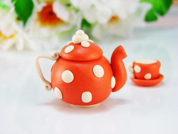 Чайник из пластилина
