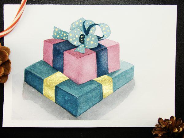 Подарки акварелью