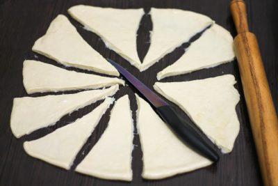 Тесто для рогаликов
