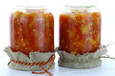 Баклажаны в томатном соке на зиму