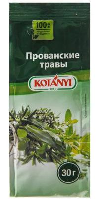 Основные обязательные ингредиенты прованских трав. Куда добавляют прованские травы – рецепты применения. Калорийность и химический состав Прованских специй