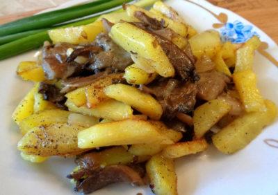 Вешенки, запеченные с картошкой в духовке: рецепты, секреты приготовления