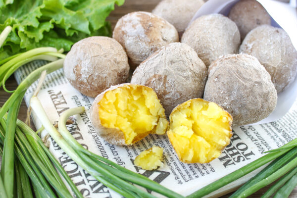 Отварной картофель в соли