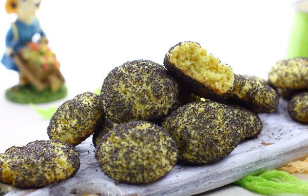 Кукурузно-творожное печенье