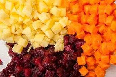 Винегрет в духовке: как запечь овощи для винегрета. Мой любимый рецепт