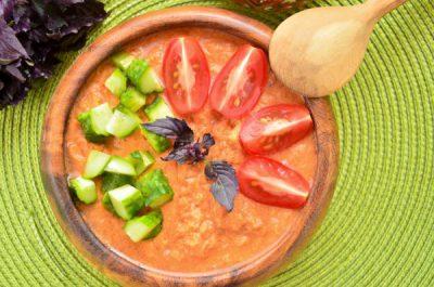 Гаспачо в домашних условиях: классический рецепт вариации приготовления холодного супа