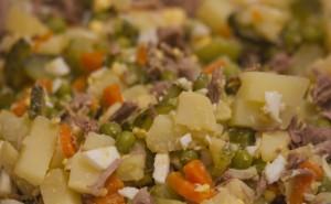 Как приготовить салат оливье