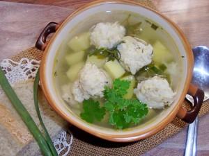 sup s frikadelkami