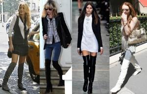Модные женские сапоги осень-зима 2011-2012