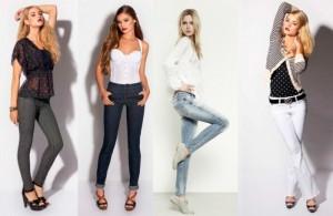 Модные женские джинсы осень-зима 2011-2012