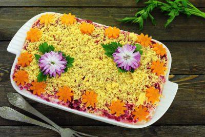 Состав салат селедка под шубой