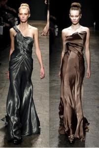 Вечерние платья Donna Karan - осень-зима 2011-2012