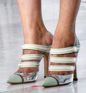 Женская обувь Louis Vuitton - коллекция весна-лето 2012