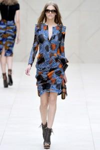 Женская одежда Burberry Prorsum - весна-лето 2012