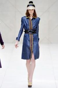 Женская одежда Burberry Prorsum - коллекция весна-лето 2012