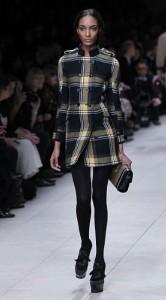 Женская верхняя одежда Burberry - коллекция осень-зима 2011-2012