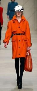 Женская верхняя одежда Burberry Prorsum - осень-зима 2011-2012