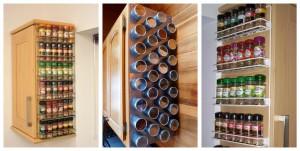Как хранить специи на кухне, 8 идей хранения специй