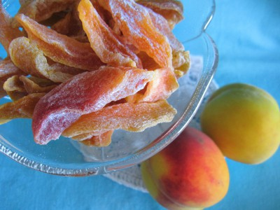 Цукаты из персиков