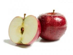 Как очистить яблоки от воска