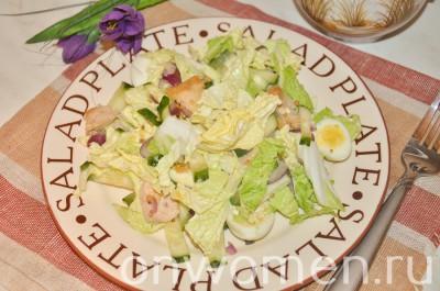 salat-s-pechenyu-treski-i-perepelinymi-yajcami7