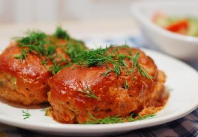 ленивые голубцы из пекинской капусты в сковороде