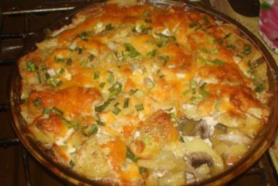 мясо по французски с картошкой в духовке рецепт с фото