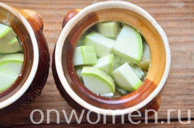 блюдо с картофелем и кабачками в духовке рецепт с фото