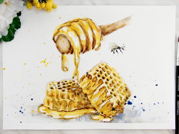 Мёд акварелью