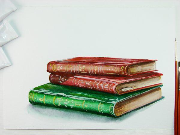 Книга акварелью